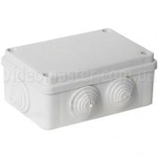 Коробка распределительная наружного монтажа 120×80×40 мм с вводами