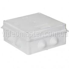 Коробка распределительная наружного монтажа 150×150×70 мм(с вводами)