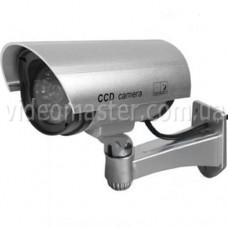 Муляж уличной видеокамеры (silver)