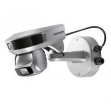 iDS-2PT9122IX-D/S (5-50мм)  2Мп камера дальнего просмотра + 2Мп PTZ-камера слежения, 10х Hikvision