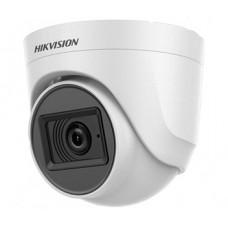 DS-2CE76D0T-ITPFS (2.8 мм) 2 Мп Turbo HD видеокамера Hikvision с встроенным микрофоном