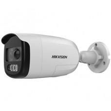 DS-2CE12DFT-PIRXOF28 2 Мп ColorVu Turbo HD видеокамера с PIR датчиком и сиреной