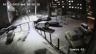 Hikvision DS-2CD2021G1-I (2.8 мм) - ночь!